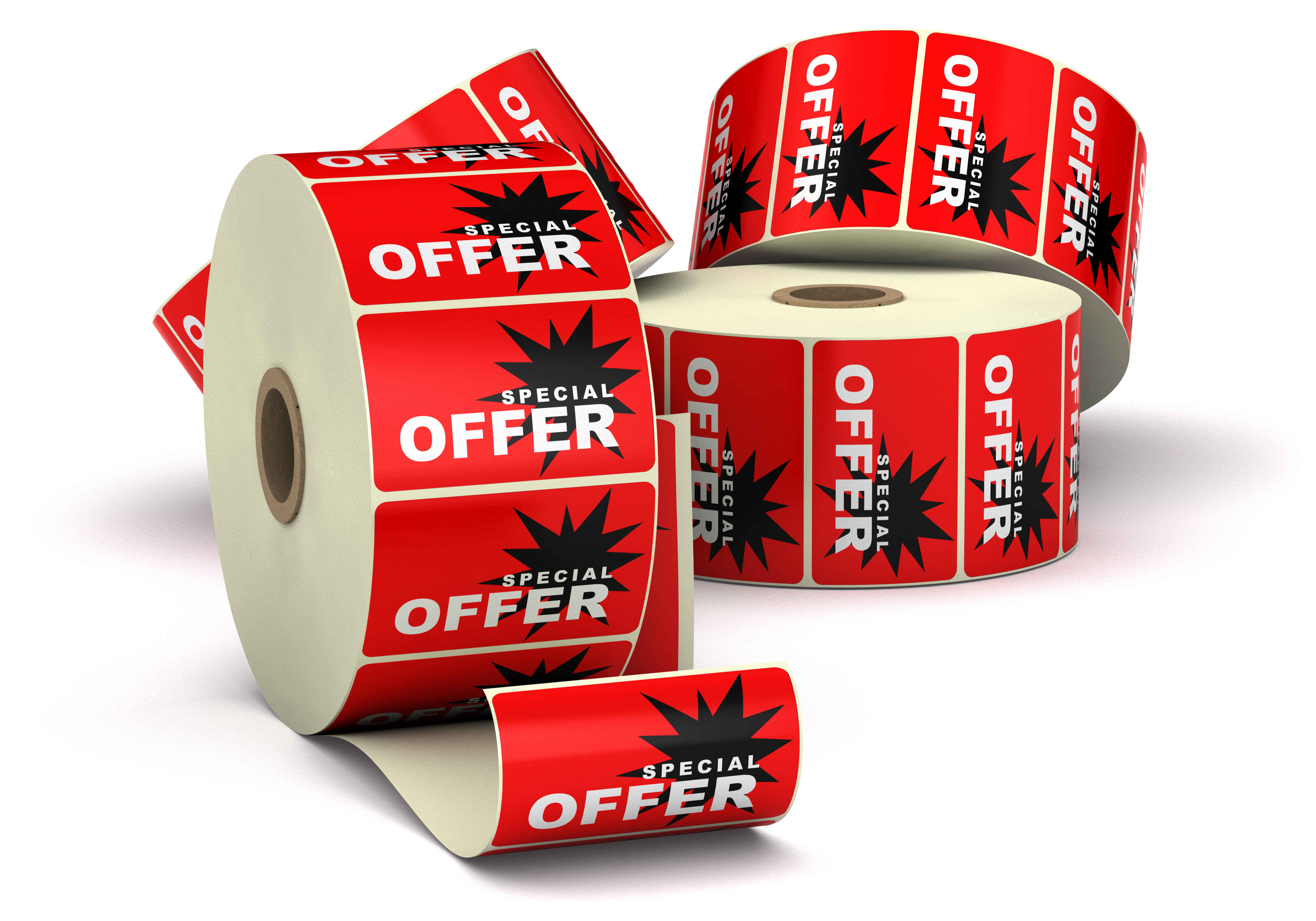 special offer label sticker promotion or disount label